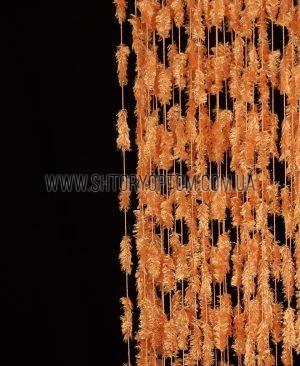 Шторы нити Джаз №3-Оранжевый