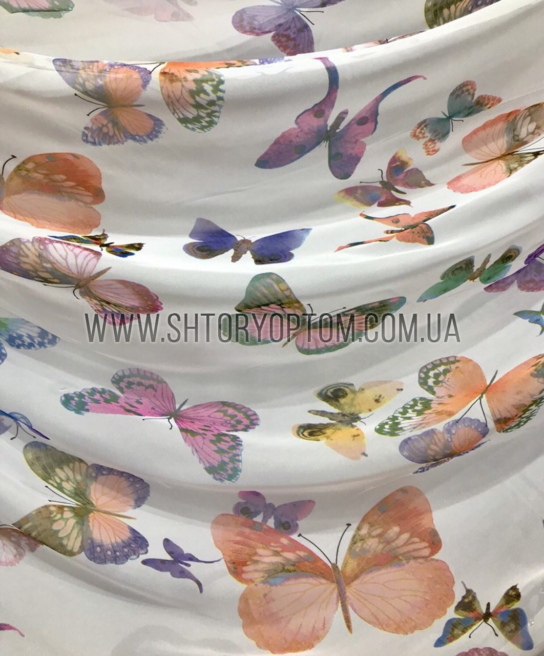 Бабочки шифон 1