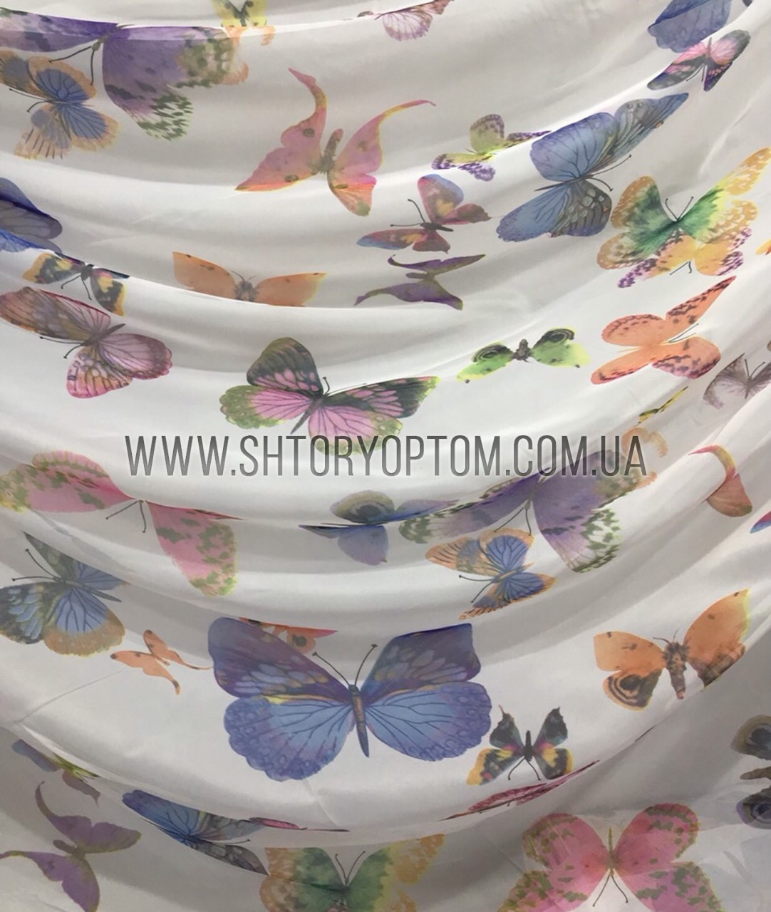 Бабочки шифон 4